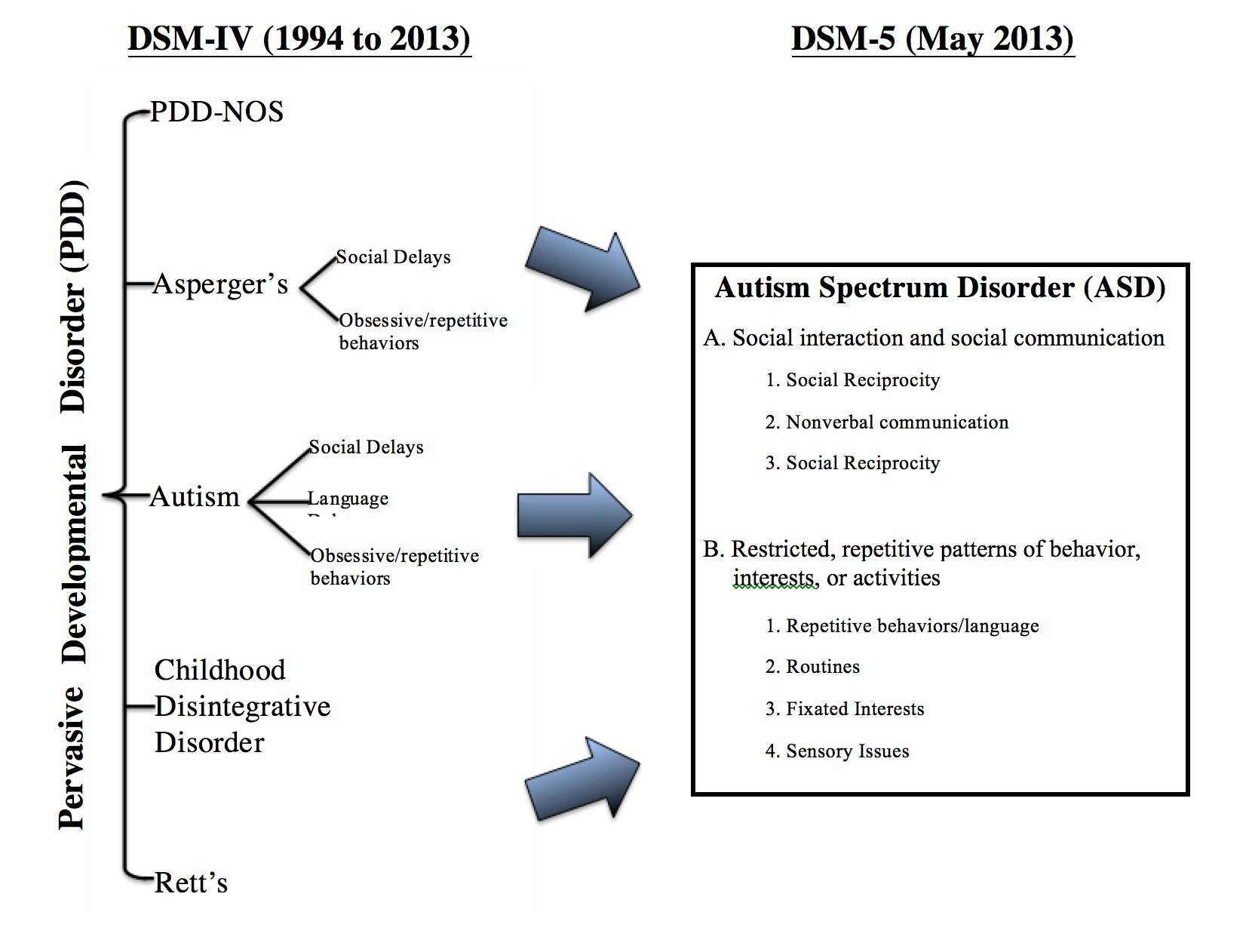 What is an Autism Spectrum Disorder My Child s History